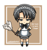 Chibi Levi by WatermelonOwl