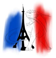 Stand for Paris by H-brid