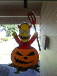 Another Simpsons Halloween Thing I ordered online by YakkoWarnerMovies101