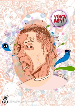 crazy 4 vector n doodle ID by bernino