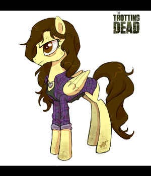 Trotting Dead - Lori Grimes by PumpkinHipHop