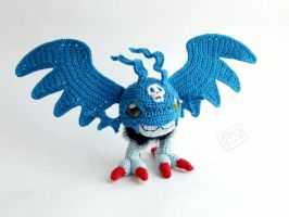 Demidevimon by theAmigurumer