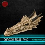 Dragon Skull png HQ by M10tje