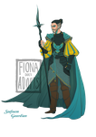 [close] Adopt - Seafoam Guardian by fionadoesadopts