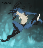 Lucario by Darkside-Cookie
