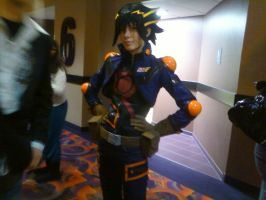 Cosplay at Yugioh Bonds of Time by Pikkon77