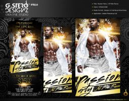Passion Party Flyer by Gallistero