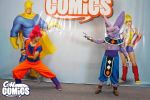 Goku God vs Beerus by Anduriill