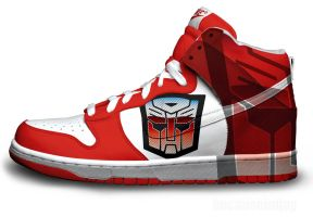 Autobots Nike Dunks by becauseimjay