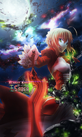 Scarlet King Saber Tag (Fate/Stay Night) by NigglezNGigglez