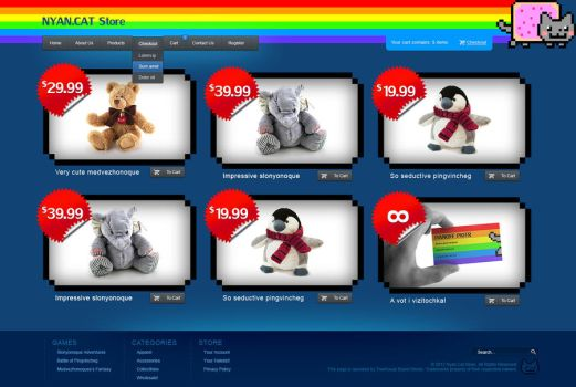 nuan cat online store by ult1mate