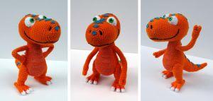 Buddy: Dinosaur Train Amigurumi by bandotaku