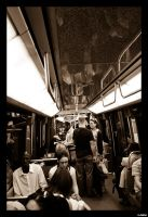 Metrotrain Paris by MarcelHieber
