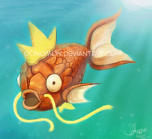 The Almighty Magikarp by Donomon