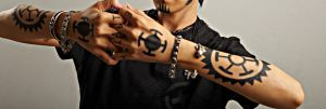 Hand and Tattoos by roro1111