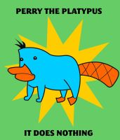 Perry The Platypus by creepyboy