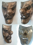 BRONZE MASK OF SOBRIETY by sober-gamzee