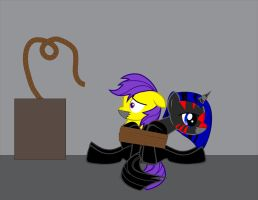 Rope tied (request for Hunter117x) by billy2345