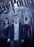 Deathlly Hallows trio in woods by Umbridge1986