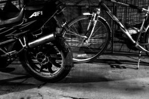 I'm just riding my bike1 by enucleate
