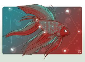 Orion Betta-card design by danee313