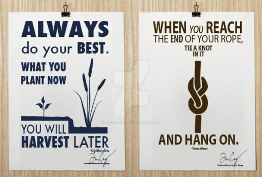 Motivational Posters 1 by alvincheunghy