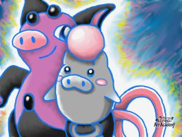 Spoink and Grumpig