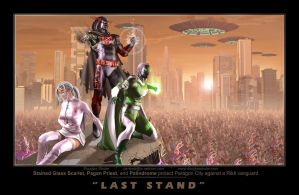 Last Stand by Douglas Shuler by StainedGlassScarlet