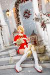 DN - Archer Christmas set cosplay by ArisRUS