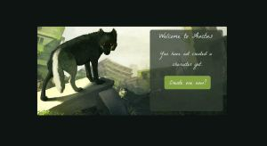 Auctus Splash Page Screen Shot by ForteShmorte