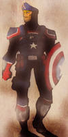 Captain America Redesign by BonnyJohn