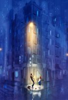 On the corner on B and Vine. by PascalCampion