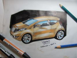 Small car concept by jimmynerd