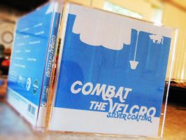 Combat the Velcro CD Cover 02 by gleaming4shadows