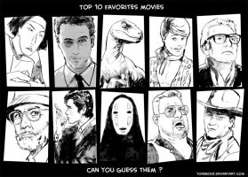 Top 10 favorites movies by Tohad