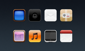iphone theme by de-rogh