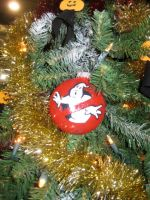 Ghostbusters Logo Ornament by AngstyGuy