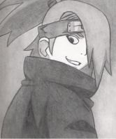 Deidara Pencil by AlmightySponge