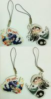 Project K and Heichou versus dustmites phonestraps by darkn2ght