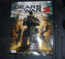 Gears 3 Poster by SlaveWolfy