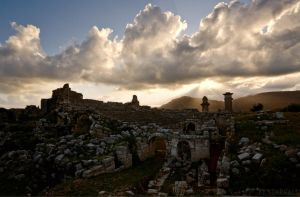 Sundown in Xanthos by Starkall