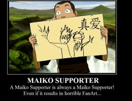 Maiko Supporter by BlackDiamond13