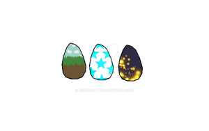 Mystery egg adopts!! Clutch 3. by RuffiMutt