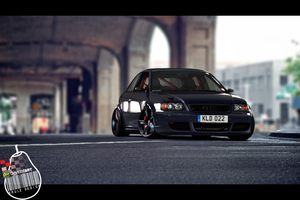 Audi S3(8L) Stanced by KruLeDesign