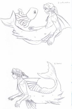 SkyTheMermanRS Sketchdump of Sketchieness 2 by WildWithin