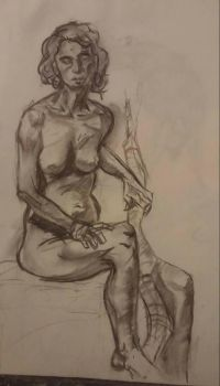 Life Drawing.....Again by ghaleon25