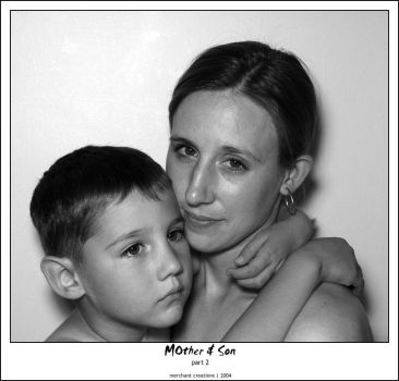 mother and son - b+w p2 by vr6stress