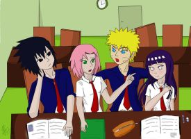 Summer school by sasuxsaku842