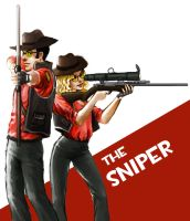 TF2 - Sniper by JujuFei