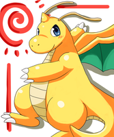 Sunny Dragonite by PencilTips